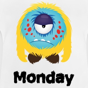 maandag Monster Shirts - Baby T-shirt