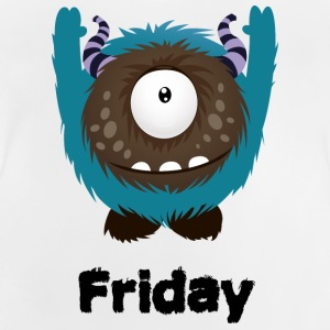 Friday Monster Long Sleeve Shirts - Baby T-Shirt