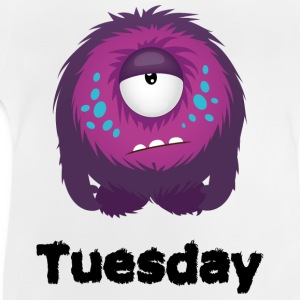 Dinsdag Monster Shirts - Baby T-shirt