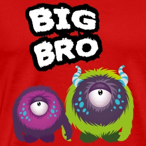 Big Bro Monster Tank Tops - Herre premium T-shirt