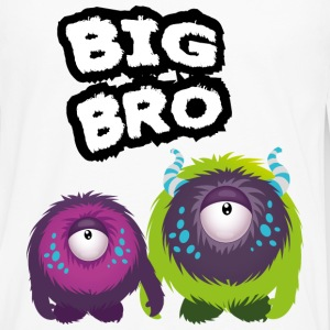 Big Bro Monster Tee shirts - T-shirt manches longues Premium Homme