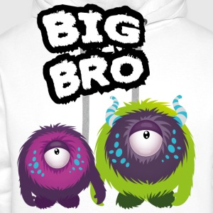 Big Bro Monster Shirts - Mannen Premium hoodie