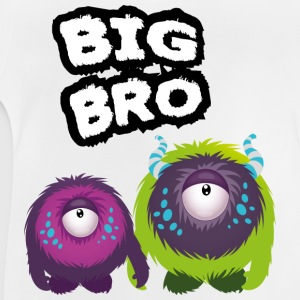 Big Bro Monster Camisetas - Camiseta bebé
