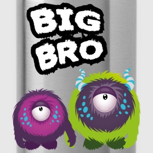 Big Bro Monster Shirts - Water Bottle