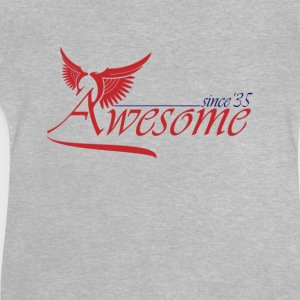 Awesome SINCE 1935 Shirts - Baby T-Shirt