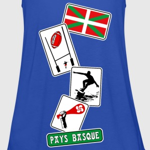 basque sport and tradition 11 Tee shirts - Débardeur Femme marque Bella