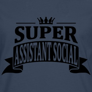 Super Assistant Social Sweat-shirts - T-shirt manches longues Premium Homme
