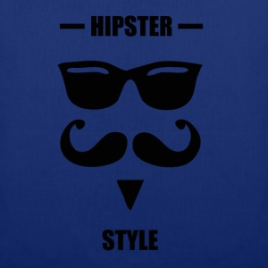 Hipster style blue - Tote Bag