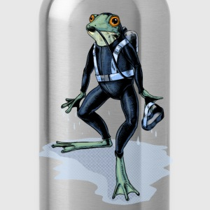 Frogman T-Shirts - Water Bottle
