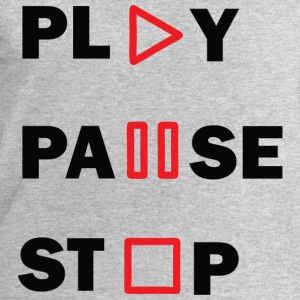 PLAY-PAUSE-STOP Tee shirts - Sweat-shirt Homme Stanley & Stella