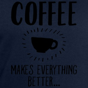 Coffee Makes Everything Better... T-shirts - Herresweatshirt fra Stanley og Stella