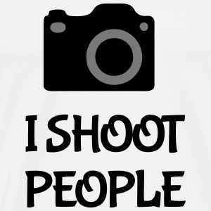 Shoot People Hoodies & Sweatshirts - Men's Premium T-Shirt