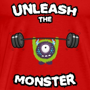 Unleash the Monster Débardeurs - T-shirt Premium Homme