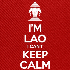 I'm Lao I Can't Keep Calm Shirts - Snapback Cap