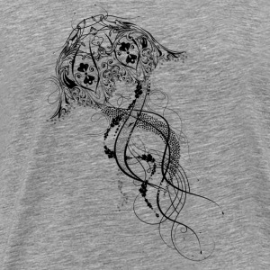 An artisticly decorated jellyfish Other - Men's Premium T-Shirt