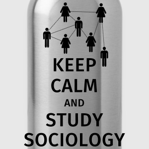 keep calm and sociology Camisetas - Cantimplora