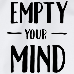 Empty Your Mind T-skjorter - Gymbag