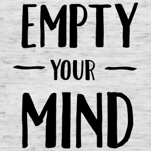 Empty Your Mind T-shirts - Dame tanktop fra Bella