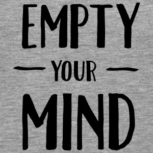 Empty Your Mind Tee shirts - T-shirt manches longues Premium Homme