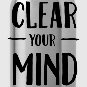 Clear Your Mind T-shirts - Vattenflaska