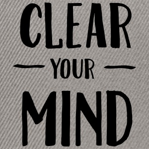 Clear Your Mind T-shirts - Snapbackkeps