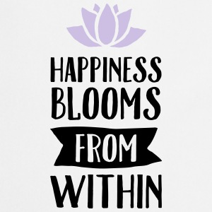 Happiness Blooms From Within Tee shirts - Tablier de cuisine