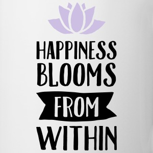 Happiness Blooms From Within Débardeurs - Tasse
