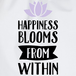 Happiness Blooms From Within Topper - Gymbag