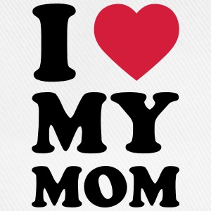 I LOVE MY MOM Baby-bodyer - Baseballkasket
