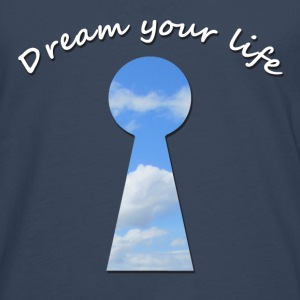 dream your life T-shirts - Herre premium T-shirt med lange ærmer