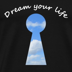 dream your life Langarmshirts - Männer Premium T-Shirt