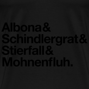 Freeride Arlberg Hoodies & Sweatshirts - Men's Premium T-Shirt