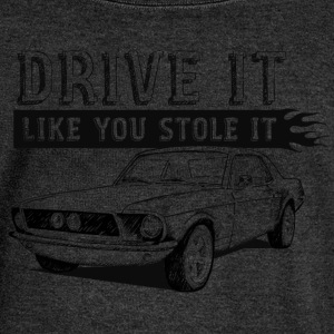 Drive It - Coupe T-Shirts - Women's Boat Neck Long Sleeve Top