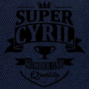 Super Cyril Tee shirts - Casquette snapback