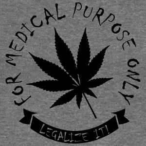 Legalize medical Cannabis Tee shirts - Pull Femme col bateau de Bella