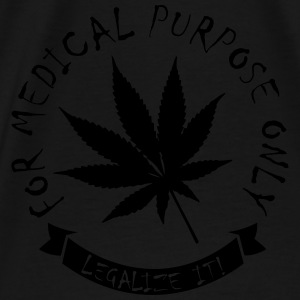 Legalize medical Cannabis Pullover & Hoodies - Männer Premium T-Shirt
