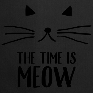 The Time Is Meow Sweaters - Keukenschort