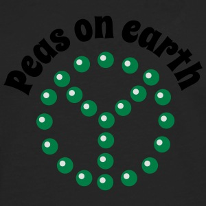 Peas on earth Tee shirts - T-shirt manches longues Premium Homme
