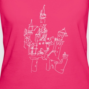Neuschwanstein Castle  w Bags & Backpacks - Women's Organic T-shirt