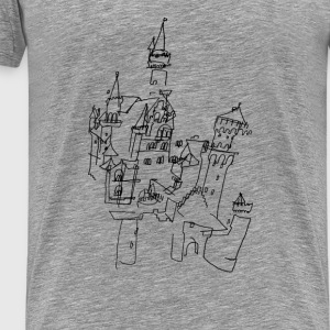 Neuschwanstein Castle  Tops - Men's Premium T-Shirt