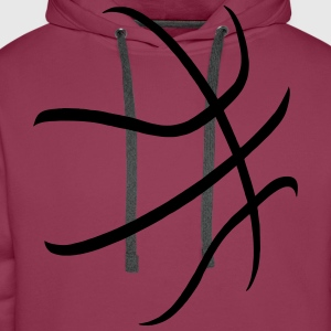basketball Shirts - Men's Premium Hoodie
