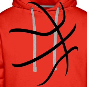 basketball Tee shirts - Sweat-shirt à capuche Premium pour hommes