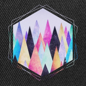 Hipster triangles (geometry) Abstract Mountains  Sweat-shirts - Casquette snapback
