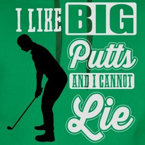 I like big putts and I cannot lie - golf T-shirts - Premiumluvtröja herr