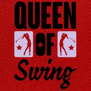 Golf: Queen of swing Long Sleeve Shirts - Snapback Cap