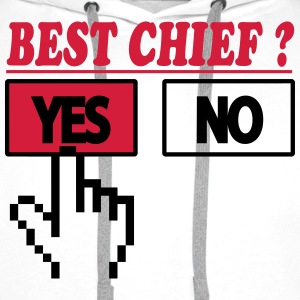Best chief ? yes 222  Aprons - Men's Premium Hoodie