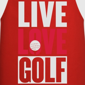 Live love golf T-Shirts - Cooking Apron