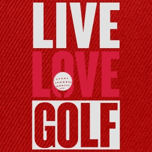 Live love golf T-Shirts - Snapback Cap