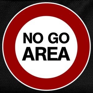 no go area T-Shirts - Kids' Backpack