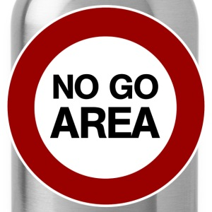 no go area T-Shirts - Water Bottle
